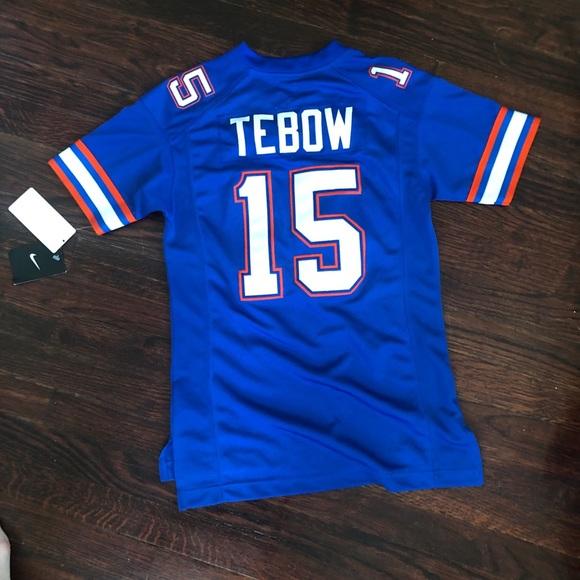 the latest 30e99 a8b80 Nike UF tim Tebow Florida Jersey NWT
